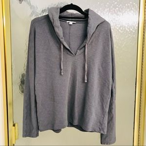 James Perse cropped hoodie, S